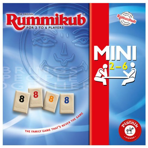 Rummikub Mini 5–6 játékos számára – Piatnik
