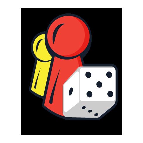 Dinó park kockajáték – Piatnik
