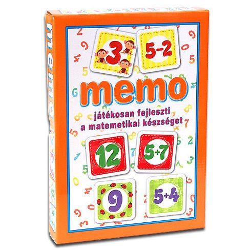 Matematika memóriajáték