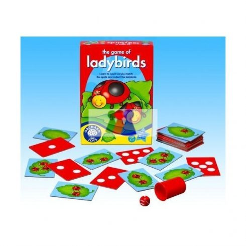 Katicabogaras játék - Orchard