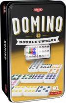Domino Dupla 12-es szett fém dobozban