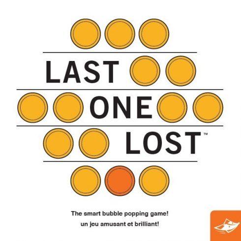 Last one Lost kétszemélyes logikai társasjáték