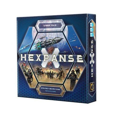Hexpanse társasjáték stratégiai társasjáték