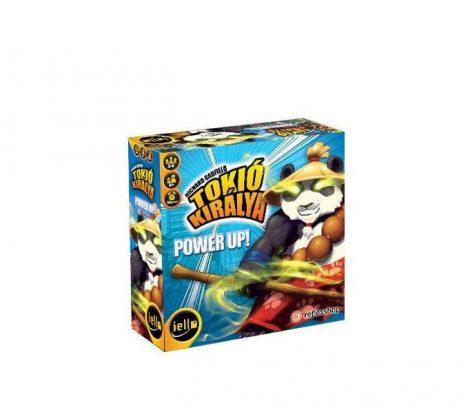 Tokió Királya: Power Up! kiegészítő (2017-es kiadás) stratégiai társasjáték