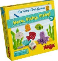 Haba My Very First Games Here, Fishy, Fishy! - Legelső játékom - Horgászni jó!