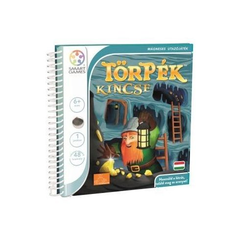 Magnetic Travel Törpék Kincse mágneses utazójáték - Smart Games