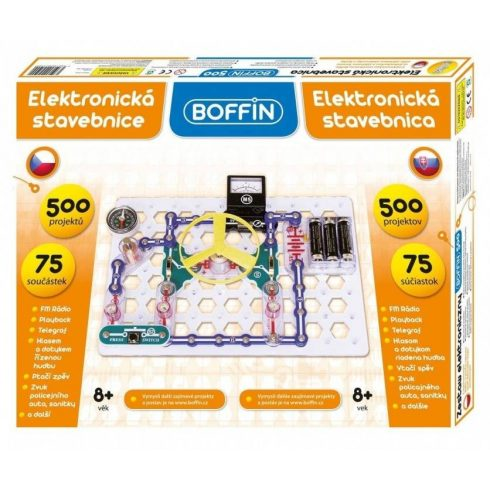 Boffin I-500 elektronikai építőkészlet