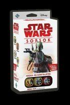 Star Wars Sorsok: Boba Fett kezdőcsomag stratégiai társasjáték