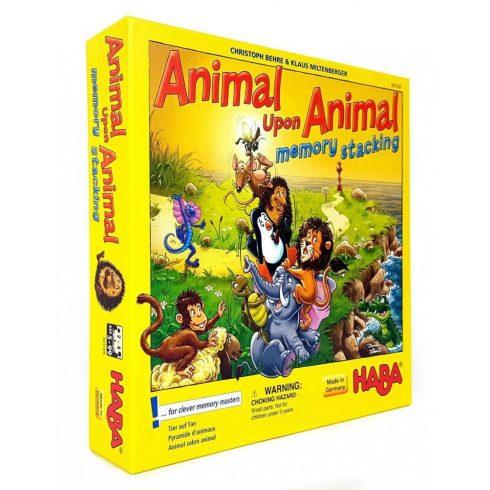 Animal Upon Animal - Memo torony gyerek társasjáték