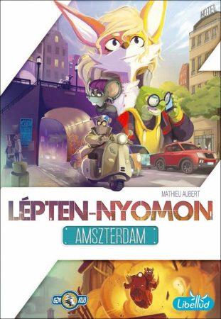 Lépten-nyomon: Amszterdam - Asszociációs patry játék