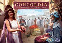 Concordia: Sestertiusszal kikövezett utak társasjáték