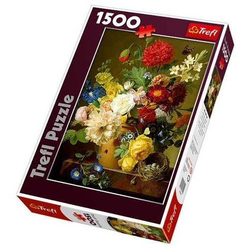 Csendélet virágokkal 1500 db-os puzzle