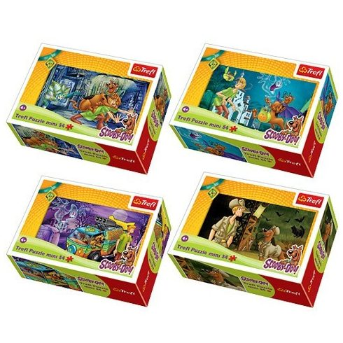 Scooby Doo kalandjai 54 db-os mini puzzle