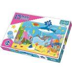 Víz alatti világ 15db-os Maxi puzzle