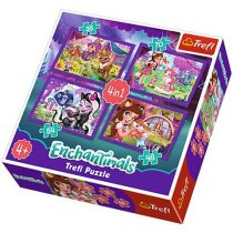 Enchantimals 4 az 1-ben puzzle