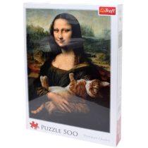 Mona Lisa és a doromboló macska 500 db-os puzzle