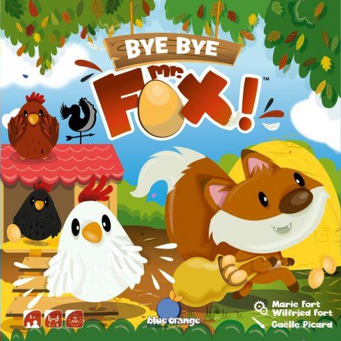 Bye Bye Mr. Fox! Gyerek társasjáték