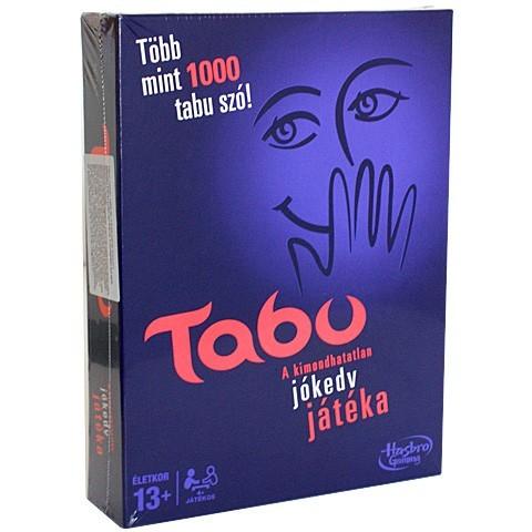 Hasbro Tabu - A kimondhatatlan szavak játéka - új kiadás